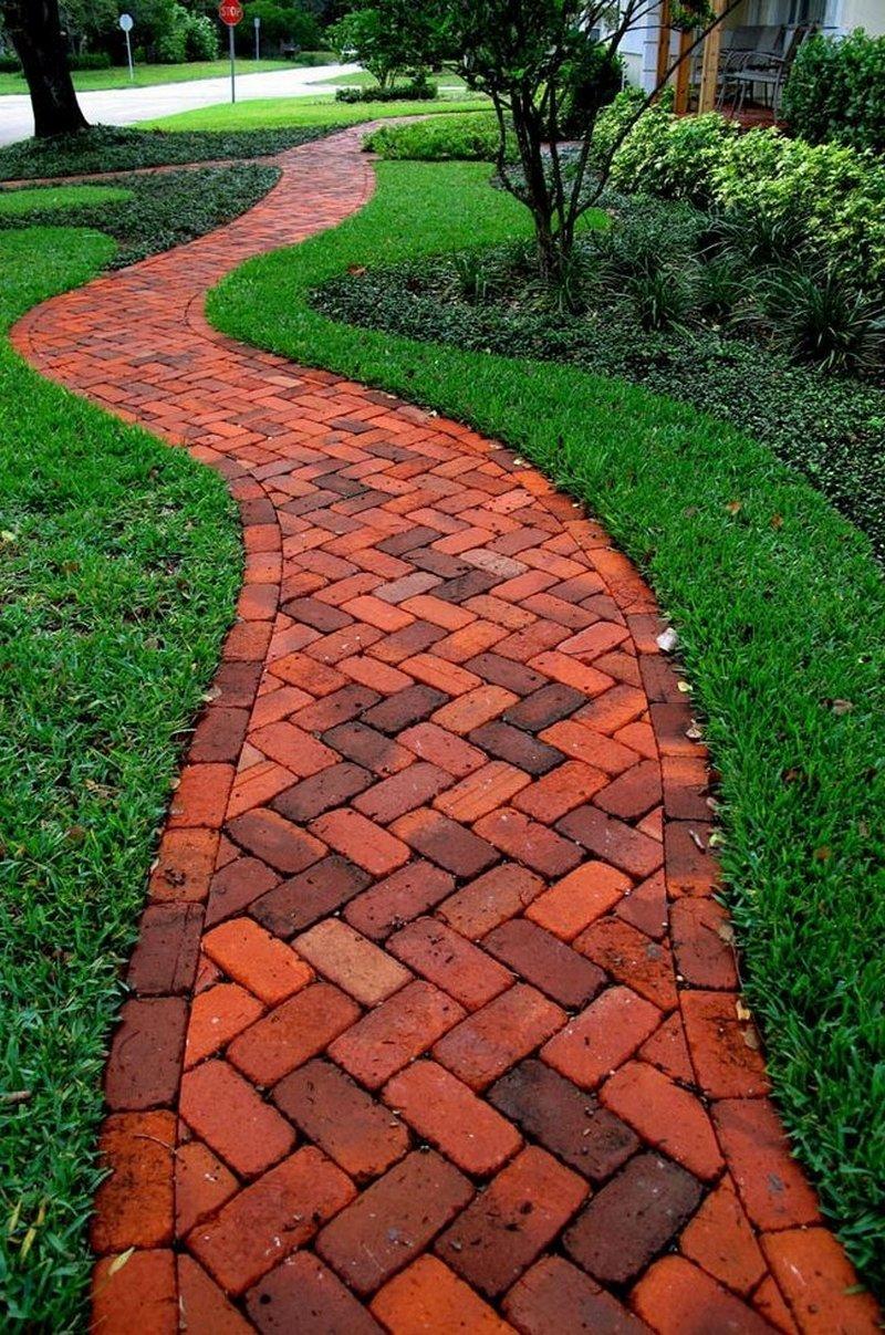 Тротуарная плитка в саду своими руками