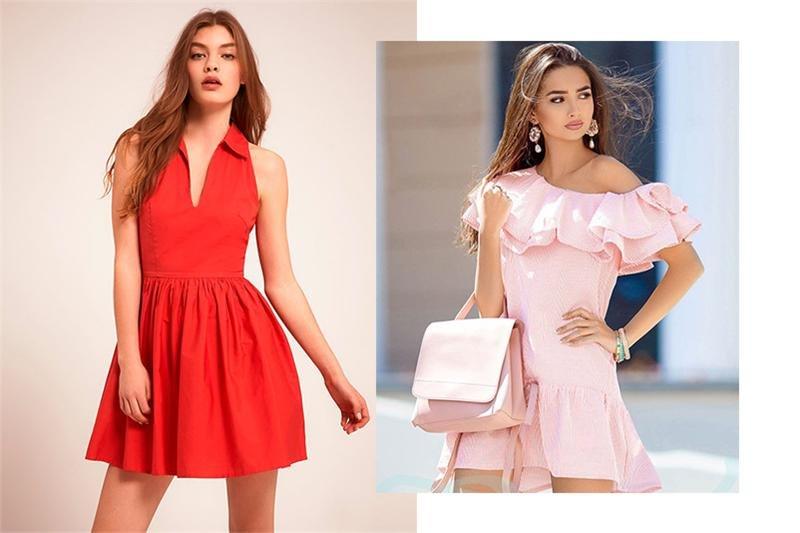 Фасоны платьев лето 2017