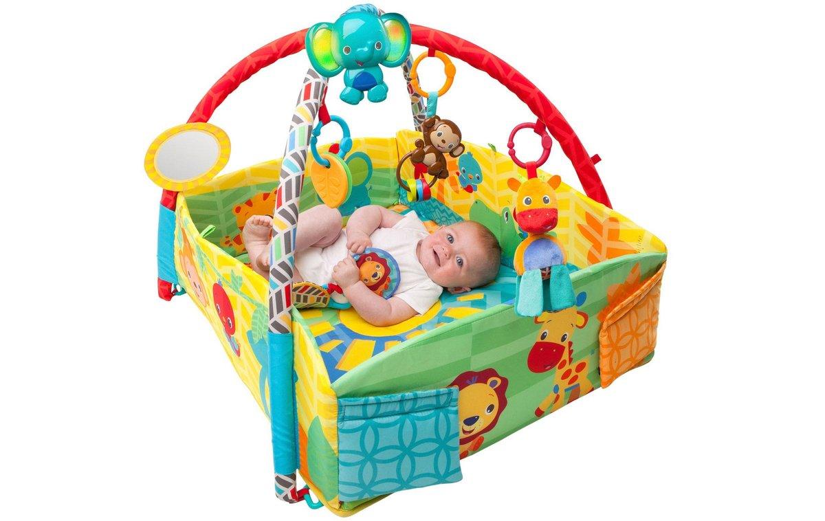 Развивающий коврик для новорожденного своими руками 24
