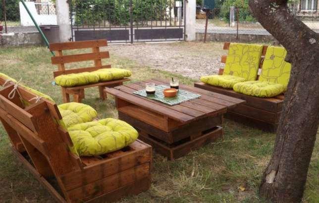 Садовая мебель из поддонов своими руками пошагово идеи для дачи
