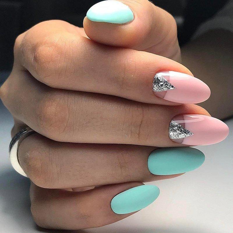 Дизайн шеллаком на длинные ногти дизайн 2017-2018