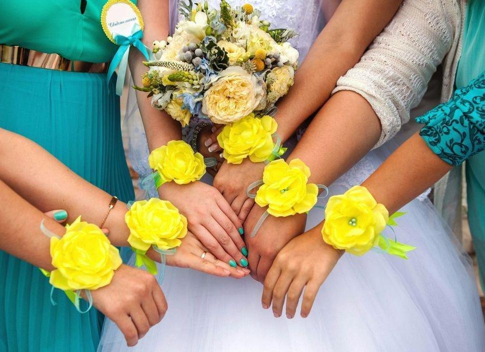Браслеты подружек невесты своими руками 94