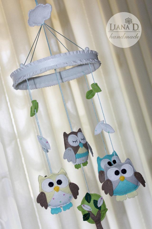Мобиль на кроватку для новорожденных выкройки фото схемы 87