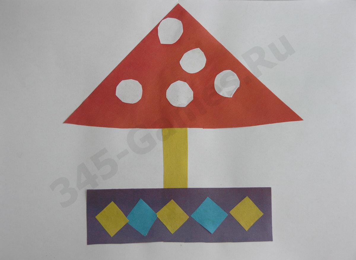 Как сделать объёмные грибы из бумаги