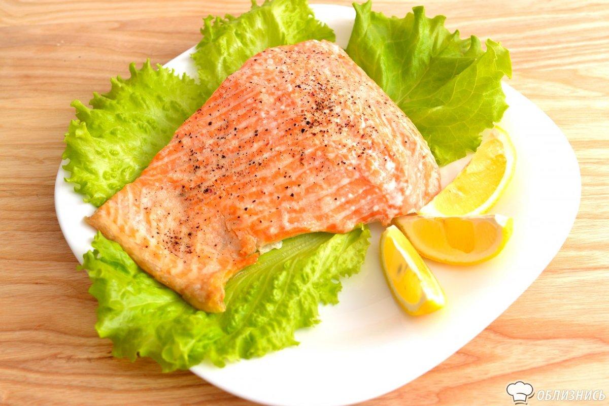 Рыба в духовке рецепты семга