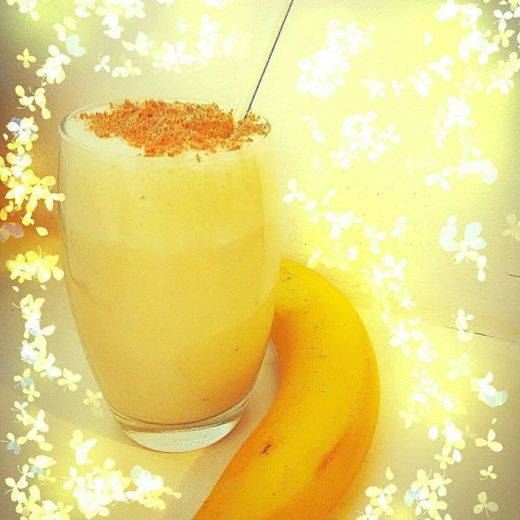 Молочный коктейль с мороженым и бананом рецепт с пошагово