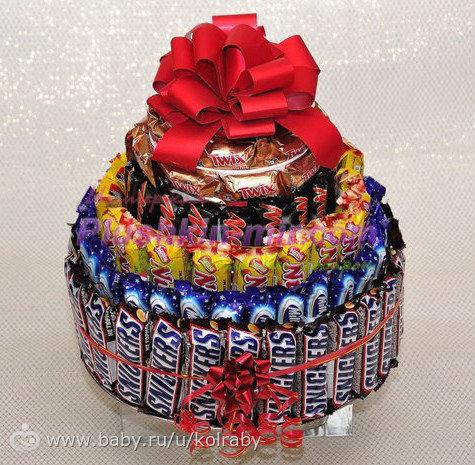 Торты и конфеты в подарок 604