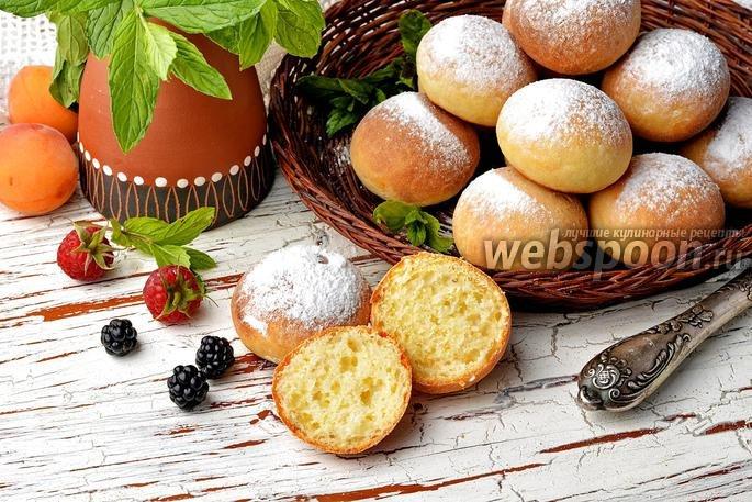 Пончики рецепт пышные в духовке 163