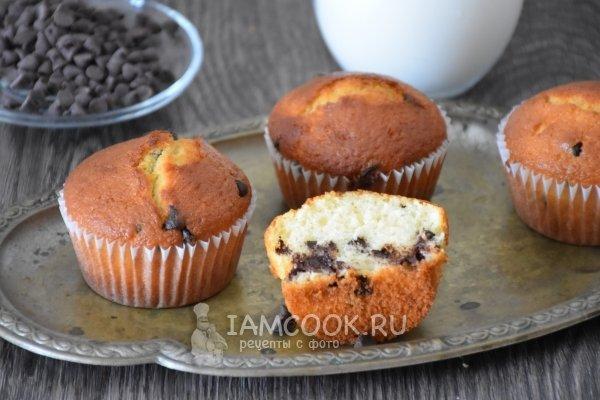 Кекс с шоколадной крошкой в мультиварке рецепты с фото