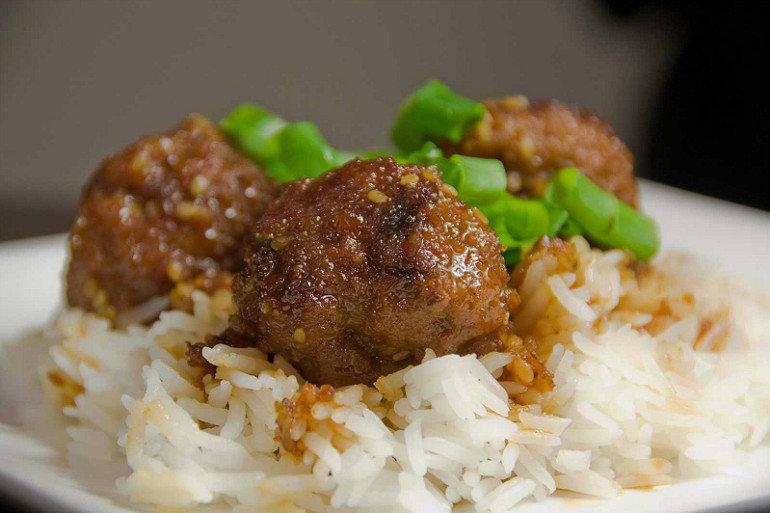 Мясные тефтели с подливкой без риса