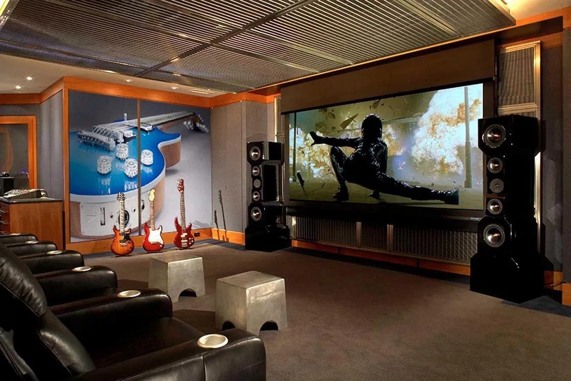 Кинотеатры и их дизайн