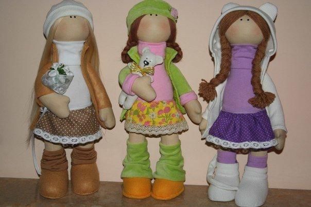 Сшить для кукол тильда 658