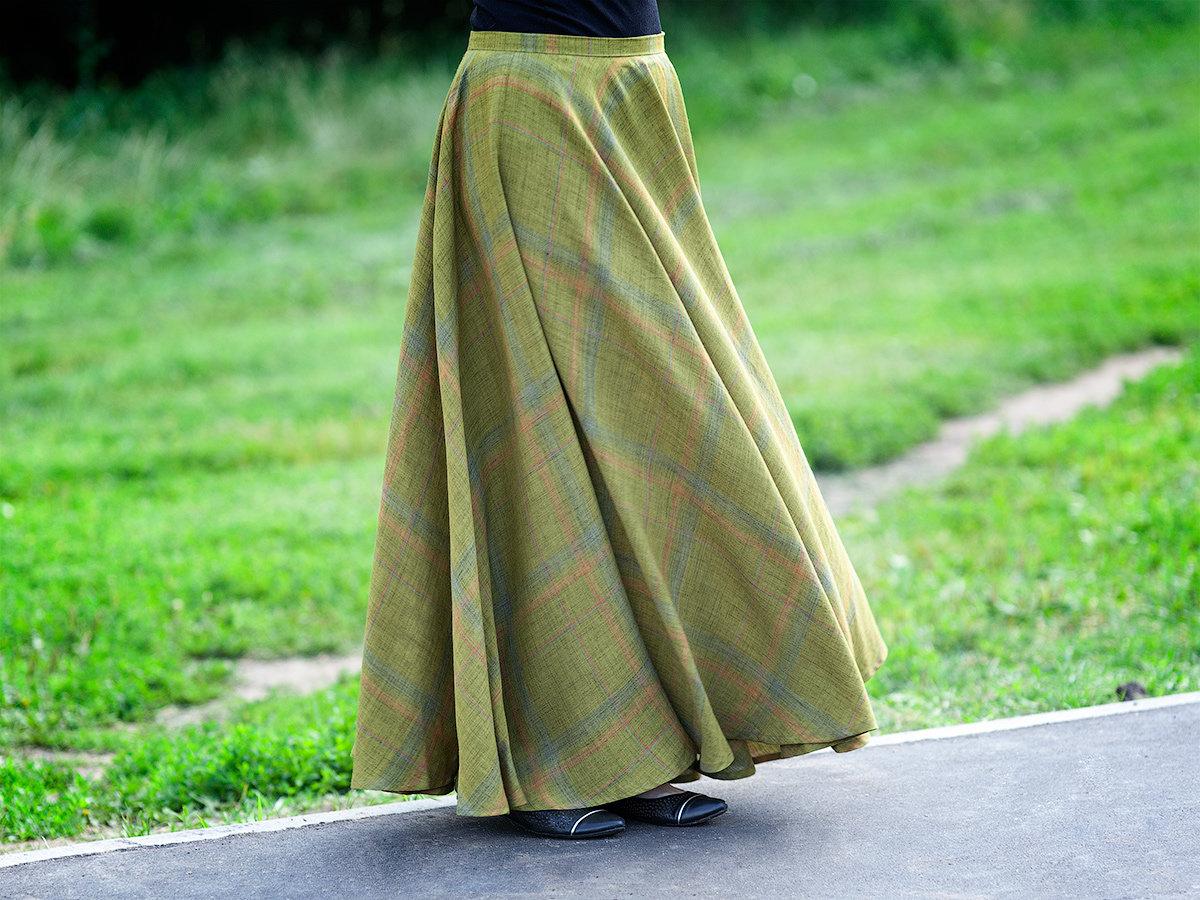 Сшить юбку в пол своими руками. Шить с нуля! 20