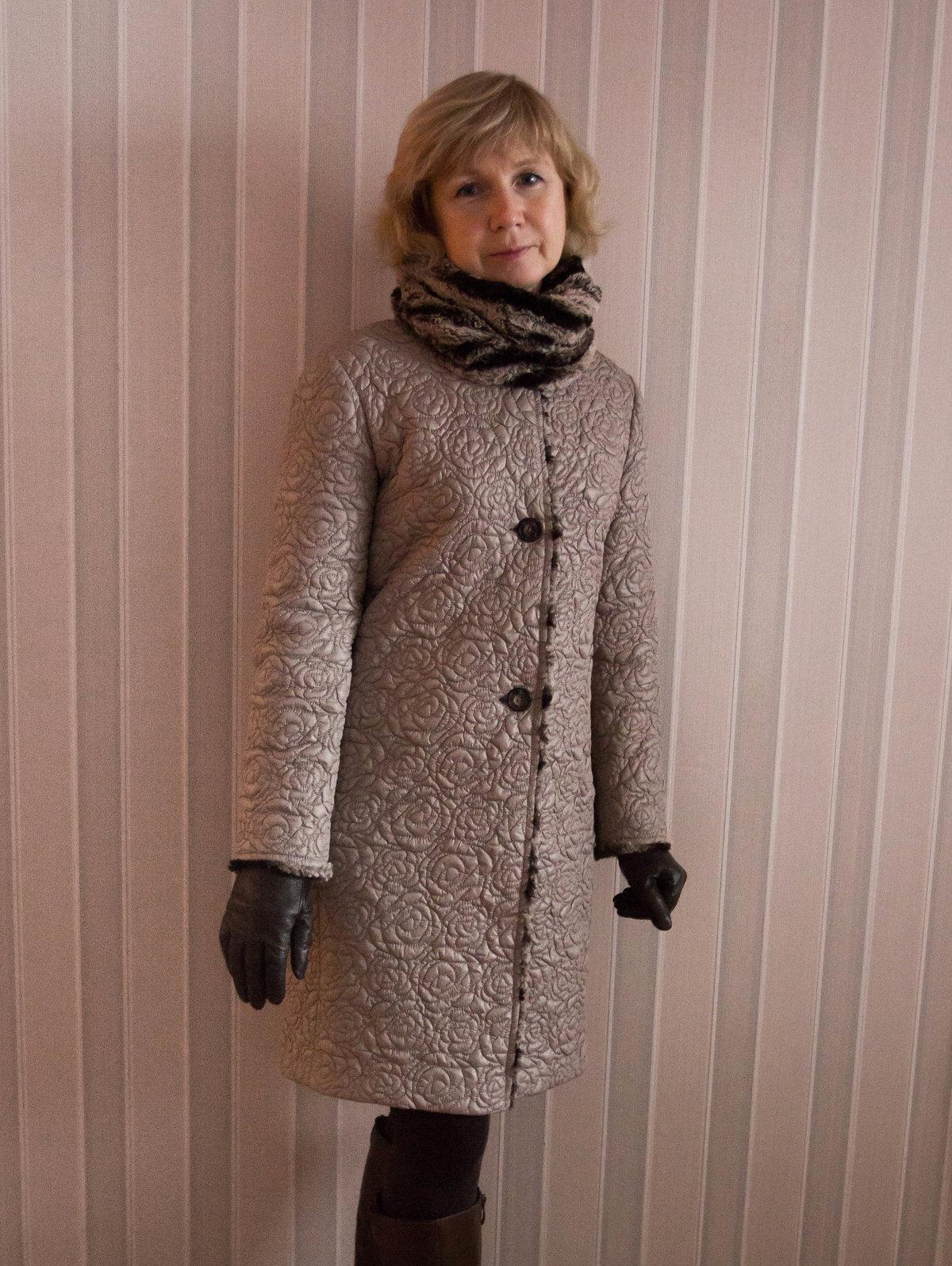 Как сшить стеганое пальто своими руками 682