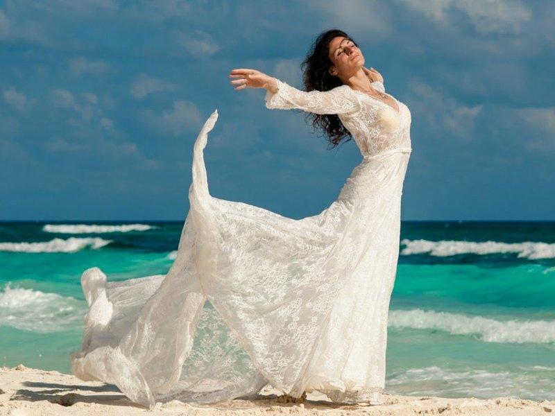 Свадебные платья для на пляже