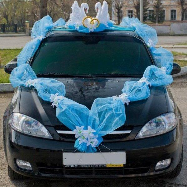 Как сделать машину на свадьбу самим