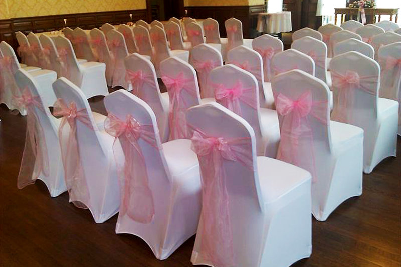 Чехол на стул свадебный