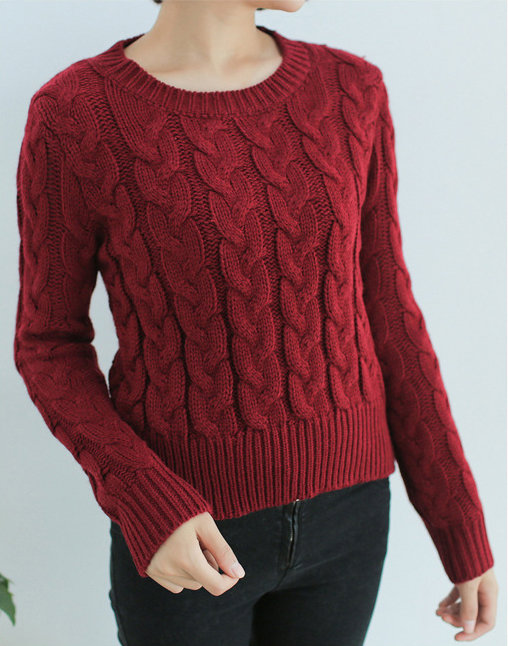 Узоры вязания свитера женского 71