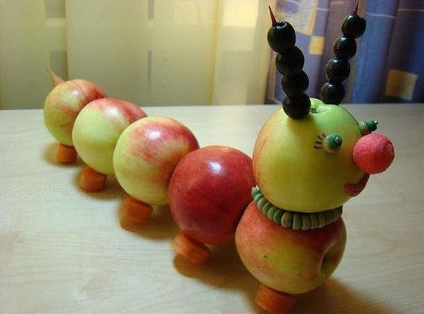 Поделки из яблок своими руками для детского сада фото как сделать 87