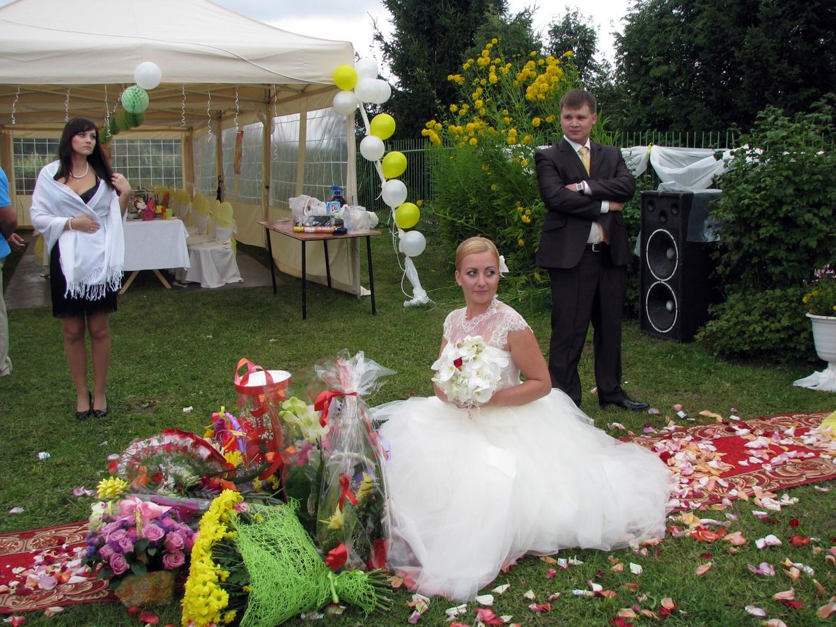 Эконом свадьба на даче фото