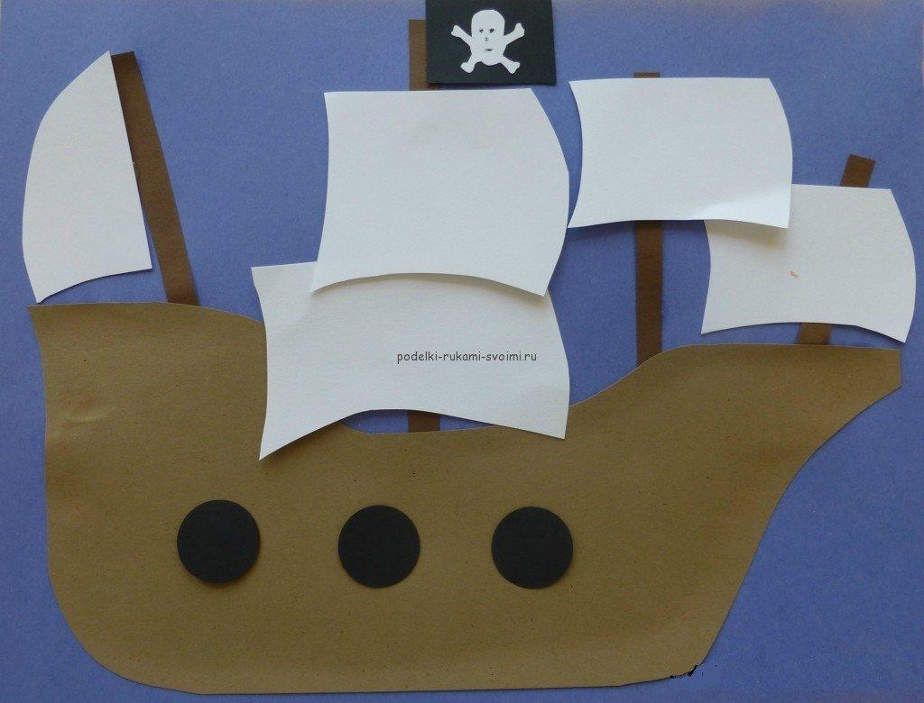 Пиратские поделки с детьми 82