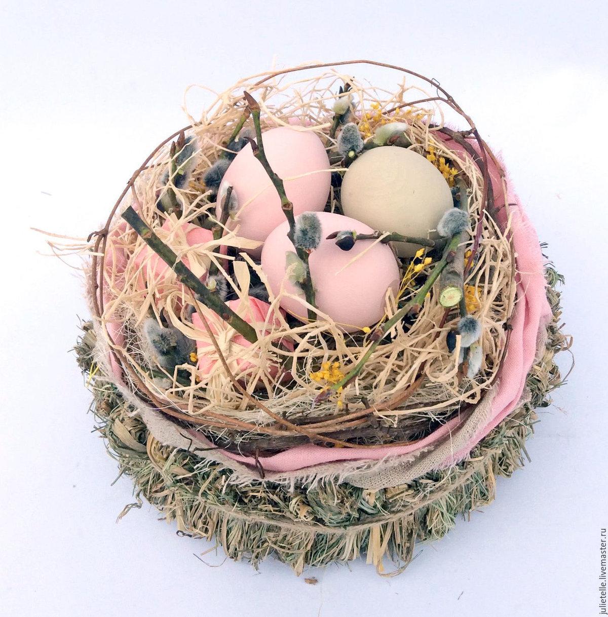 На пасху гнездо своими руками
