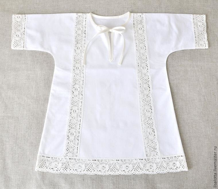 Как сшить крестильную рубашку для мальчика своими руками 76