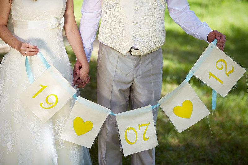 Свадебный атрибуты своими руками
