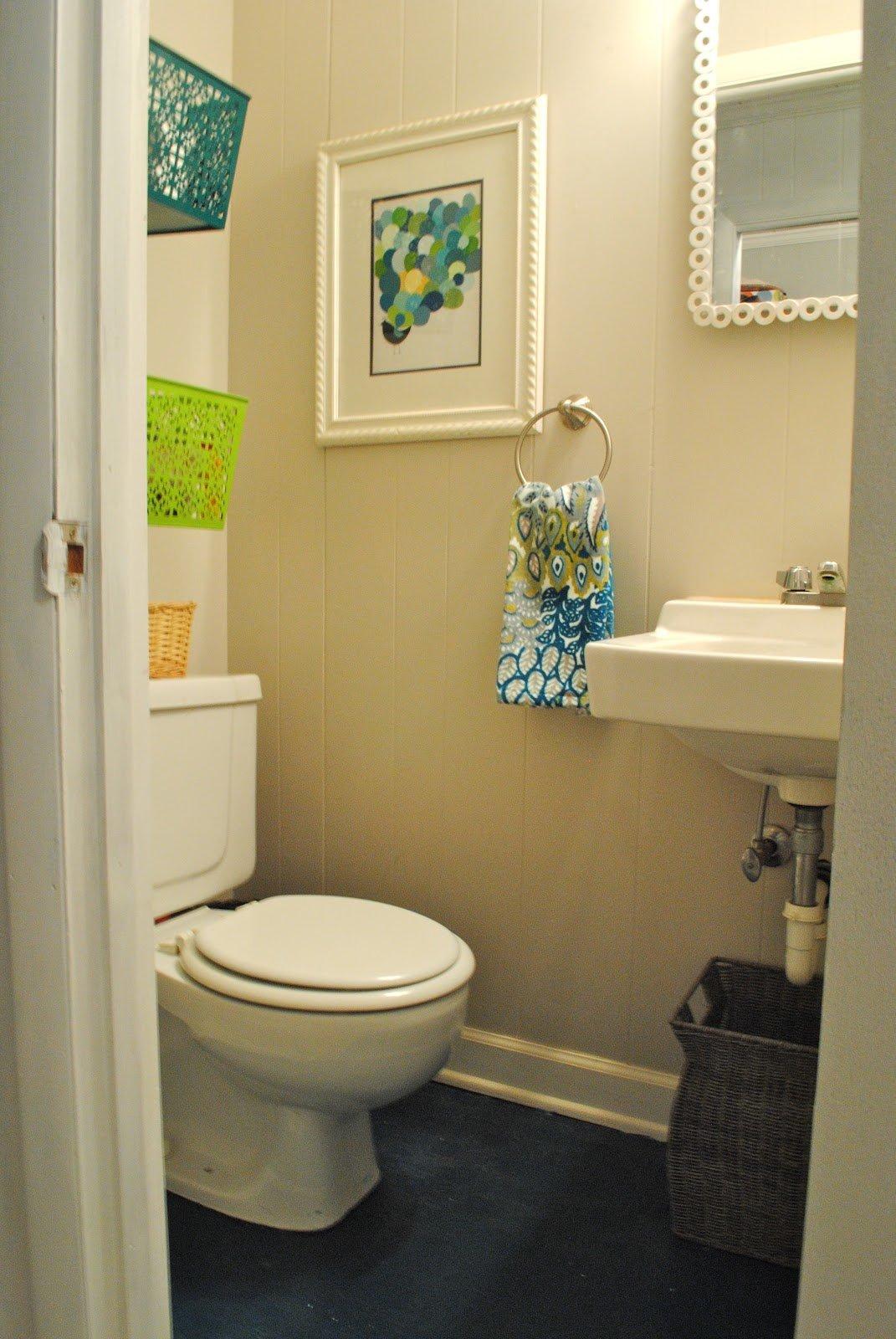 Интерьер туалета своими руками 96