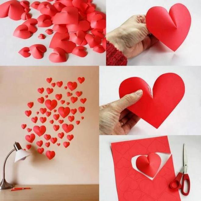 Своими руками поделки романтичные
