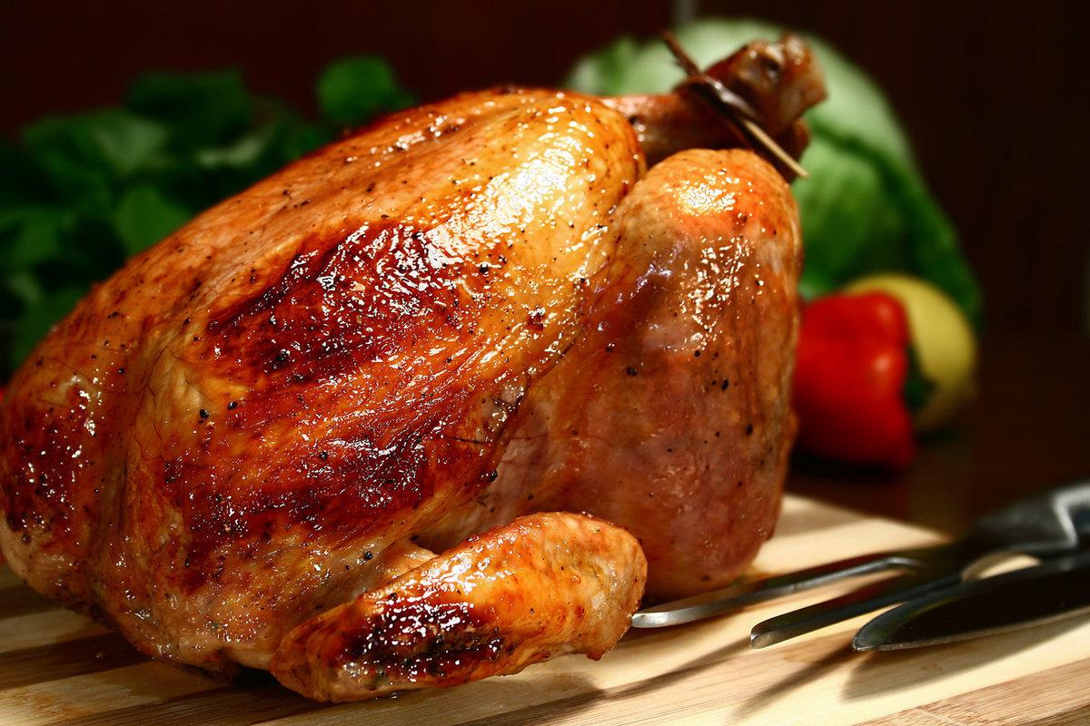 Рецепт целой курицы в духовке пошагово