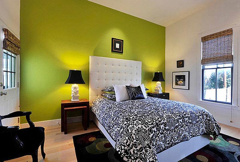 Как сочетать цвета в интерьере спальни фото