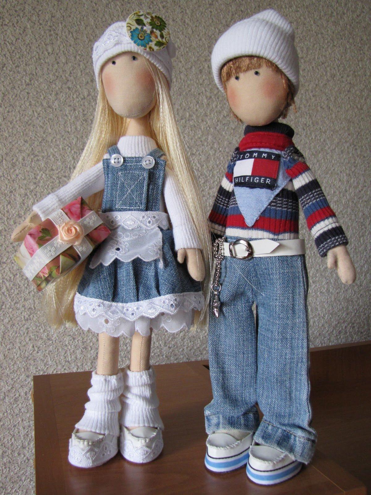 Как сделать куклу мальчика своими руками из куклы
