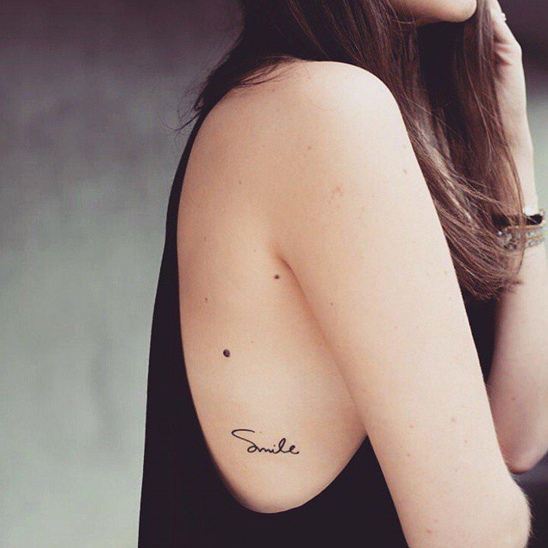 Татуировки для девушек маленькие тату