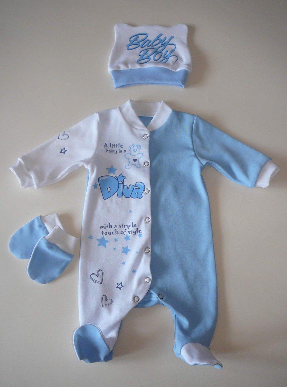 Комбинезон на новорожденного сшить своими руками