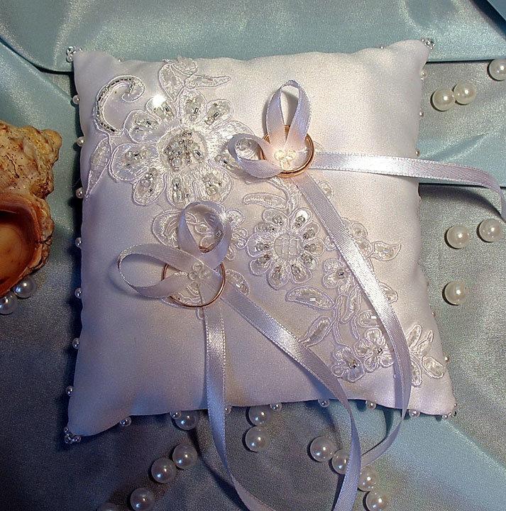 Подушечка свадебная своими руками 56