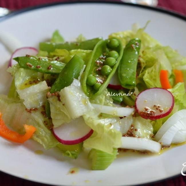 Зеленый горошек своими руками для салата