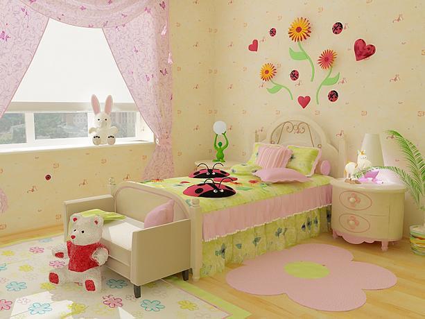 Оформить детскую комнату для девочек своими руками 64