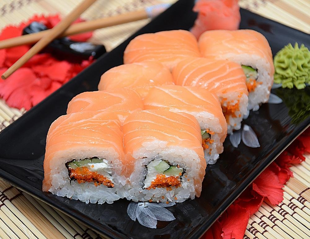Как запекать суши в домашних условиях 774