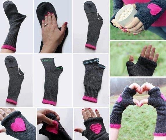 Длины перчатки своими руками 435