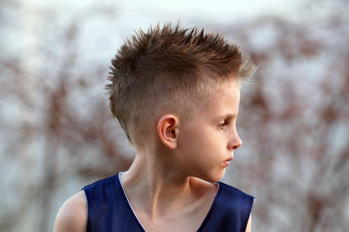 Причёски для мальчиков ёжиком