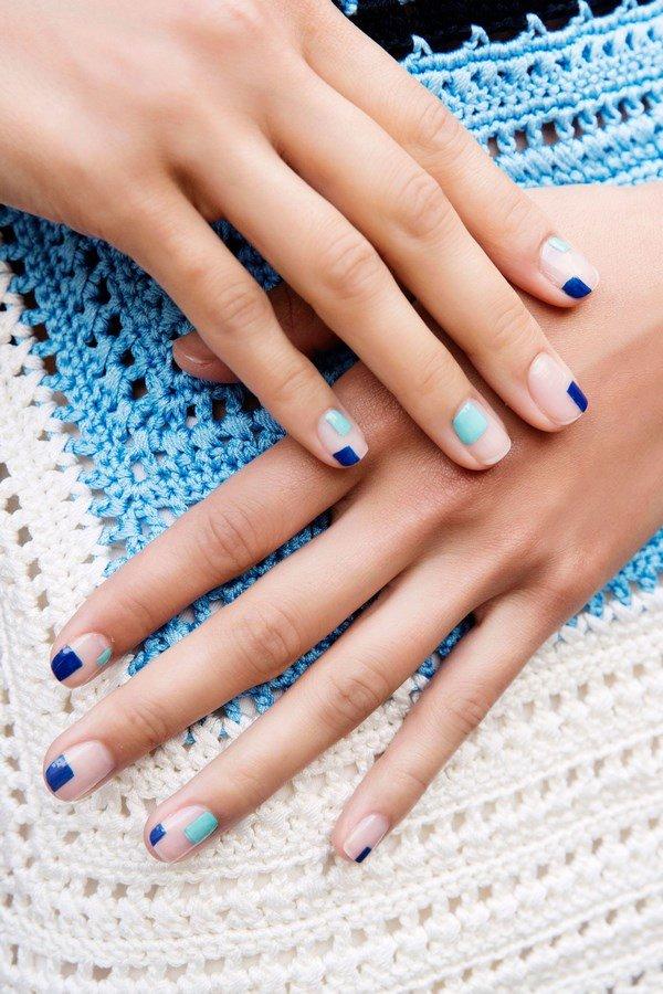 Маникюр на короткие ногти весна 2017 модные тенденции