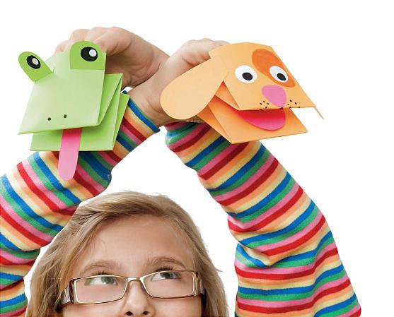 Поделки из бумаги с детьми своими руками шаблон