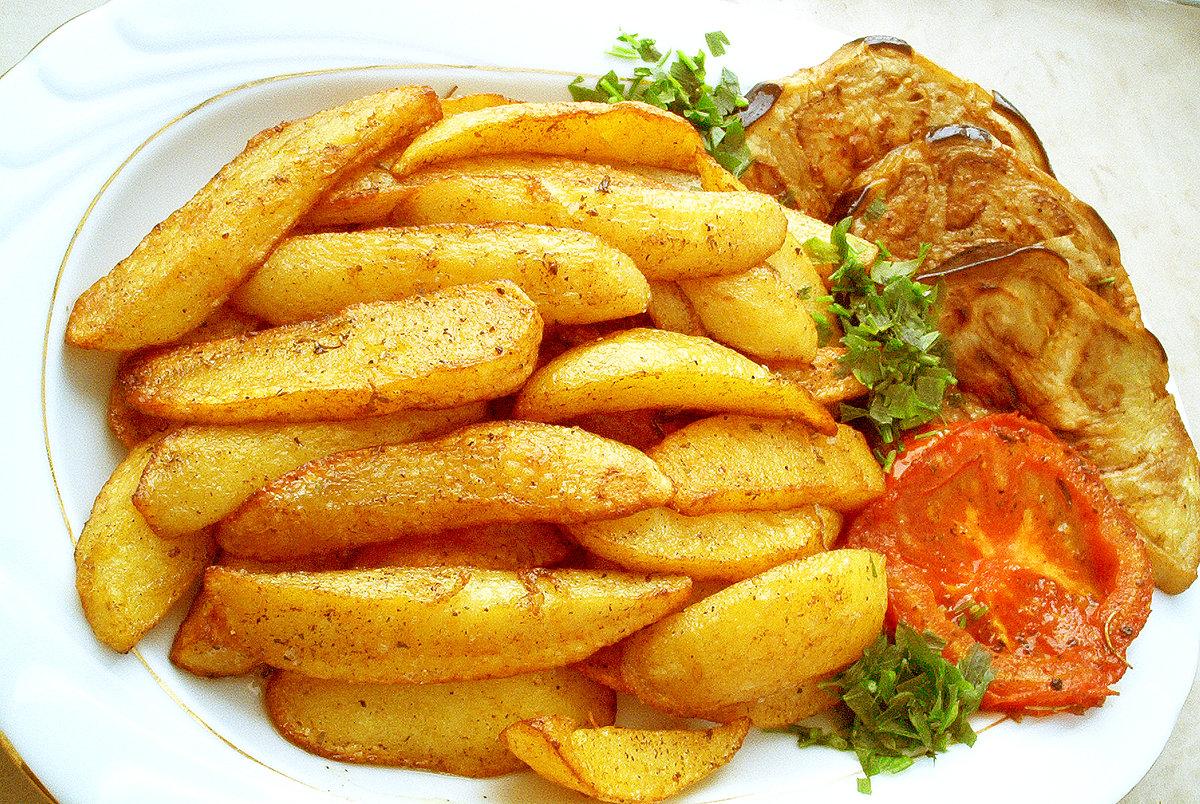Как сделать жареную картошку в микроволновке в