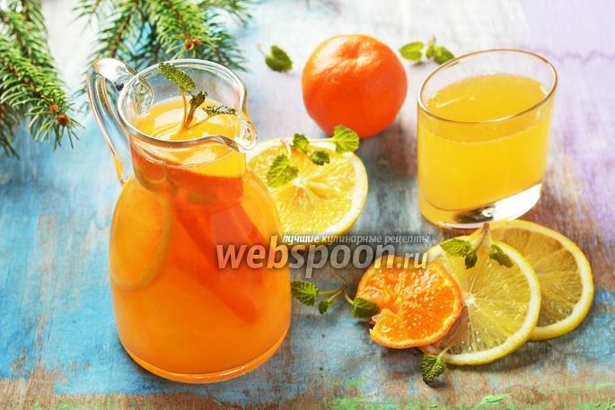 Лимонад из мандарин как сделать