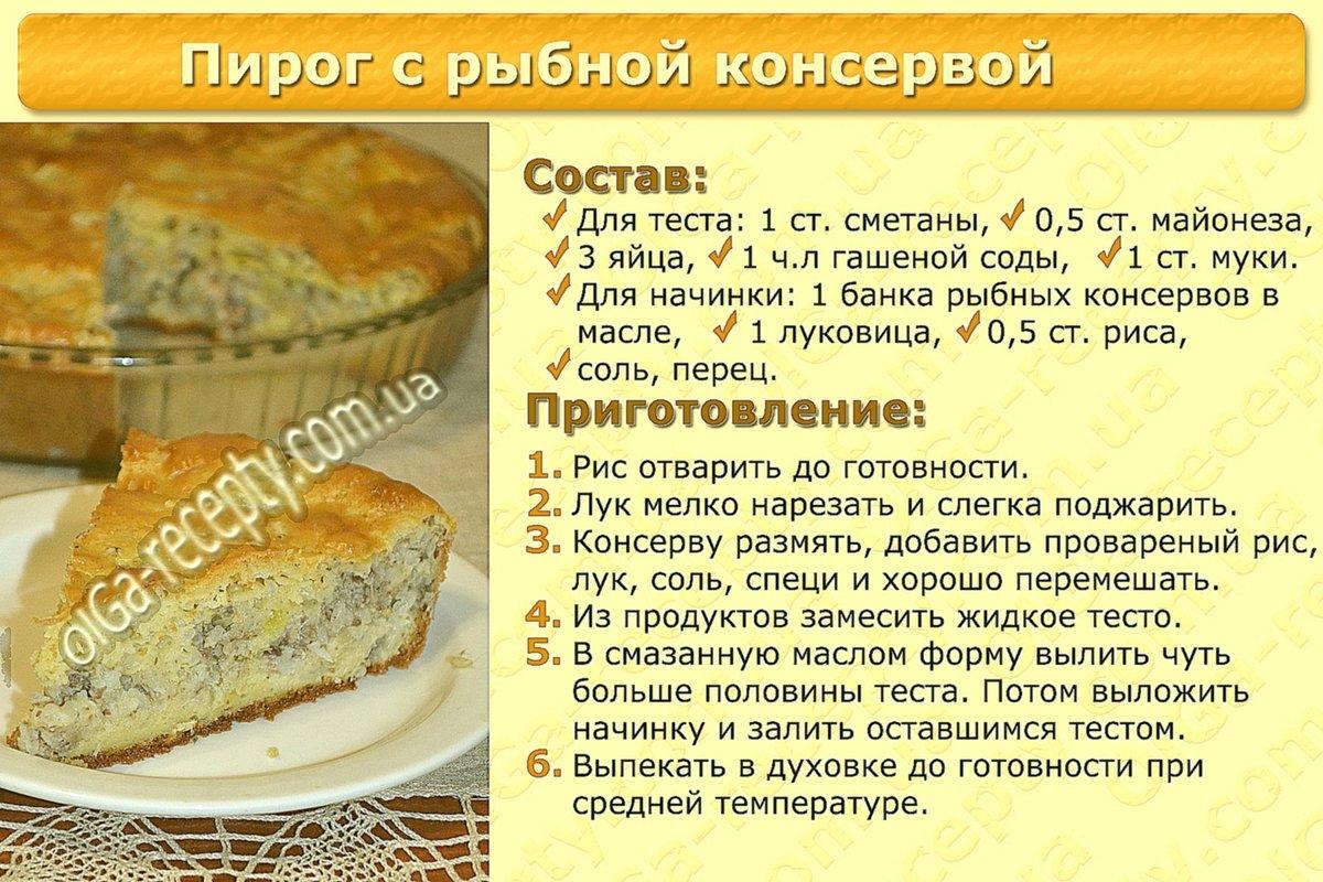 Как сделать рыбный пирог с жидкого теста