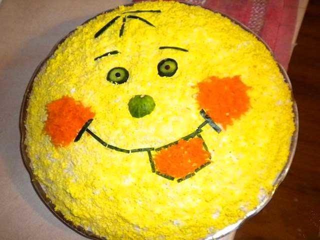 Красивые салаты для ребенка