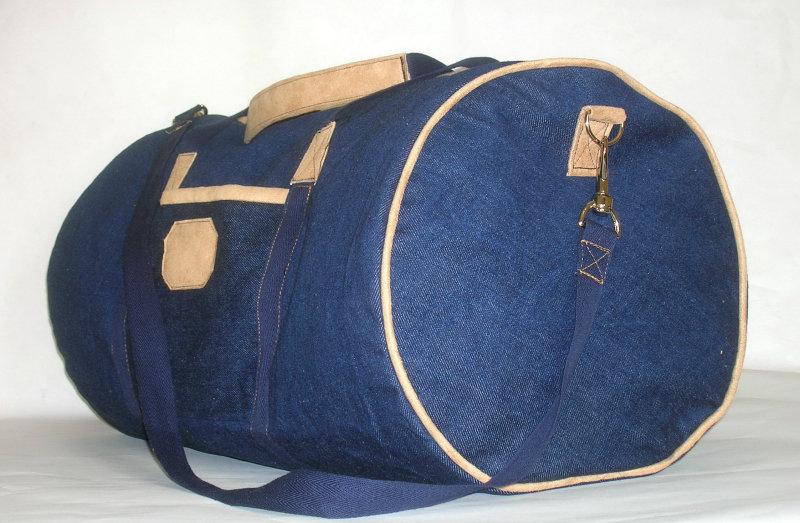 Дорожные сумки из джинсов своими руками 22