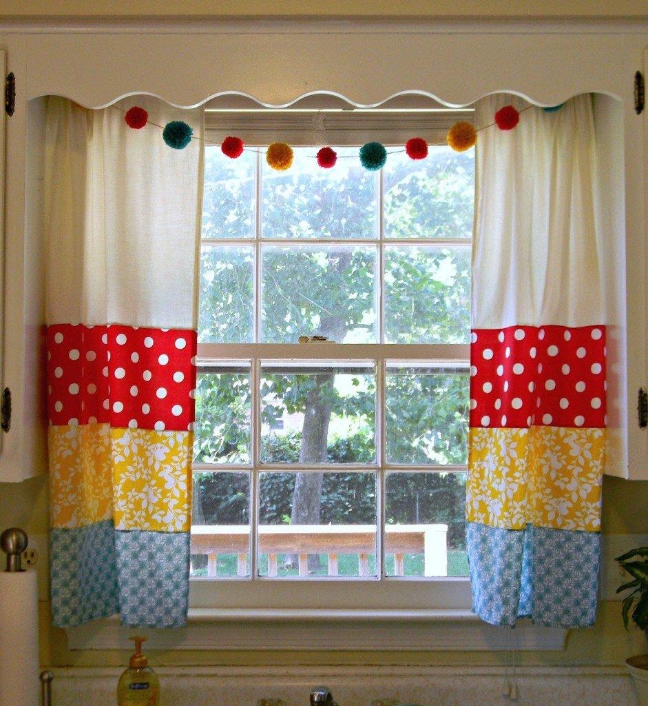 Фото шторы своими руками 40