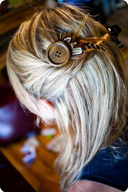 Сделать своими руками заколку с волос